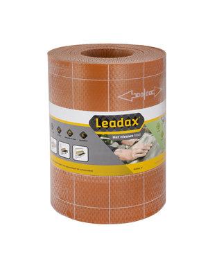 Leadax Leadax Loodvervanger - 33 cm x 6 meter - Terracotta Rood