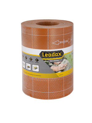 Leadax loodvervanger Leadax Loodvervanger, 33 cm x 6 meter, terracotta rood