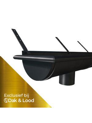 STARTERSPAKKET - Zwart Zinken Mastgoot - M30 - 3 Meter - Graphite Serie