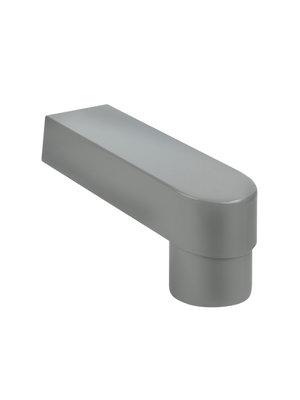 PVC Stadsuitloop 60 x 100 mm -> Buis 80 / 100 - Verlengd