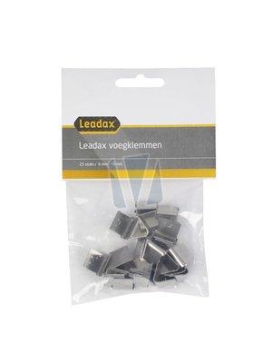 Leadax loodvervanger - Het nieuwe lood Leadax RVS voegklem,  zak 25 stuks
