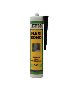 Dak en Lood Flexi Bond Polymeerkit - Grijs
