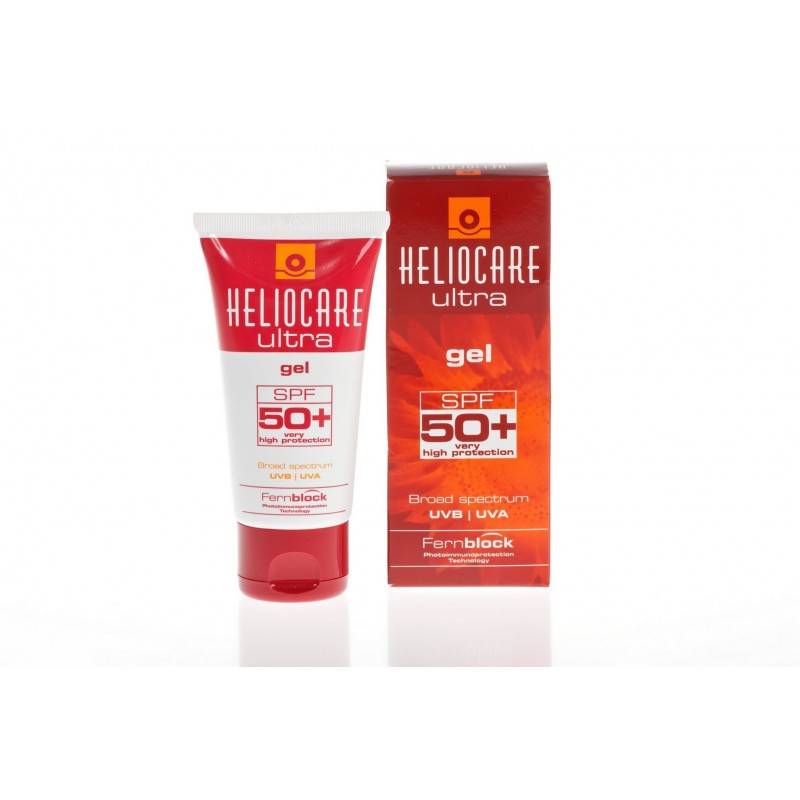 Heliocare Zonbescherming gel SPF 50+ normale/vette huid 50 ml