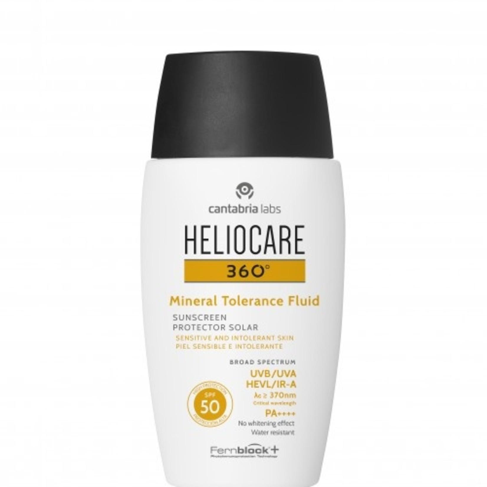 Heliocare Heliocare 360 Minerale zonnefilter SPF 50+ 50ml