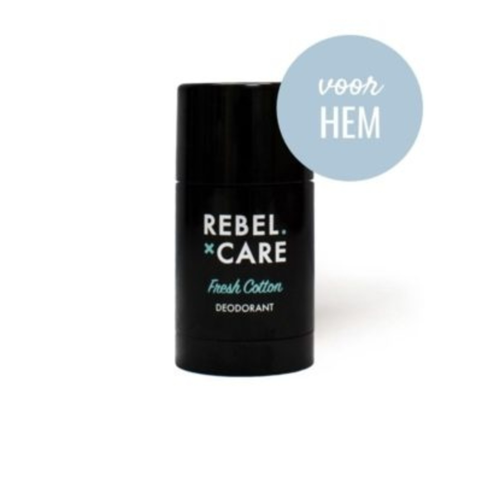 Loveli Loveli Deodorant Fresh Cotton Rebel Care 30 ml - voor hem