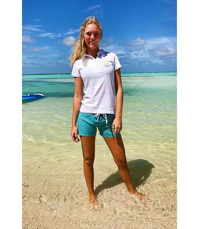 Women's Polo Shirt Light Grey