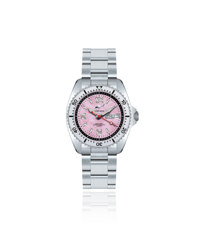 Chris Benz Watches One Medium 200M - Sea Anemone Pink