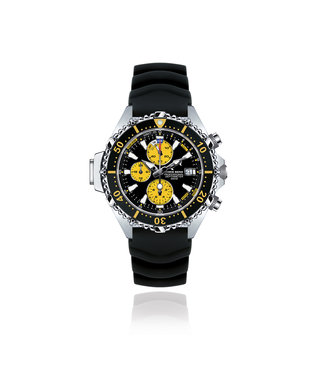 Chris Benz Watches Depthmeter Chronograph 200M - Snake Yello