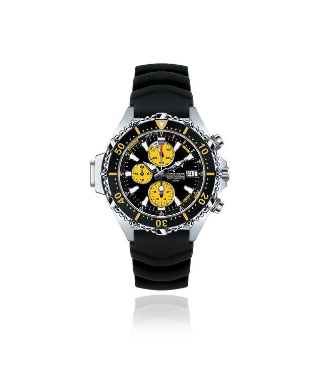 Chris Benz Watches Depthmeter Chronograph 200M - Snake Yello