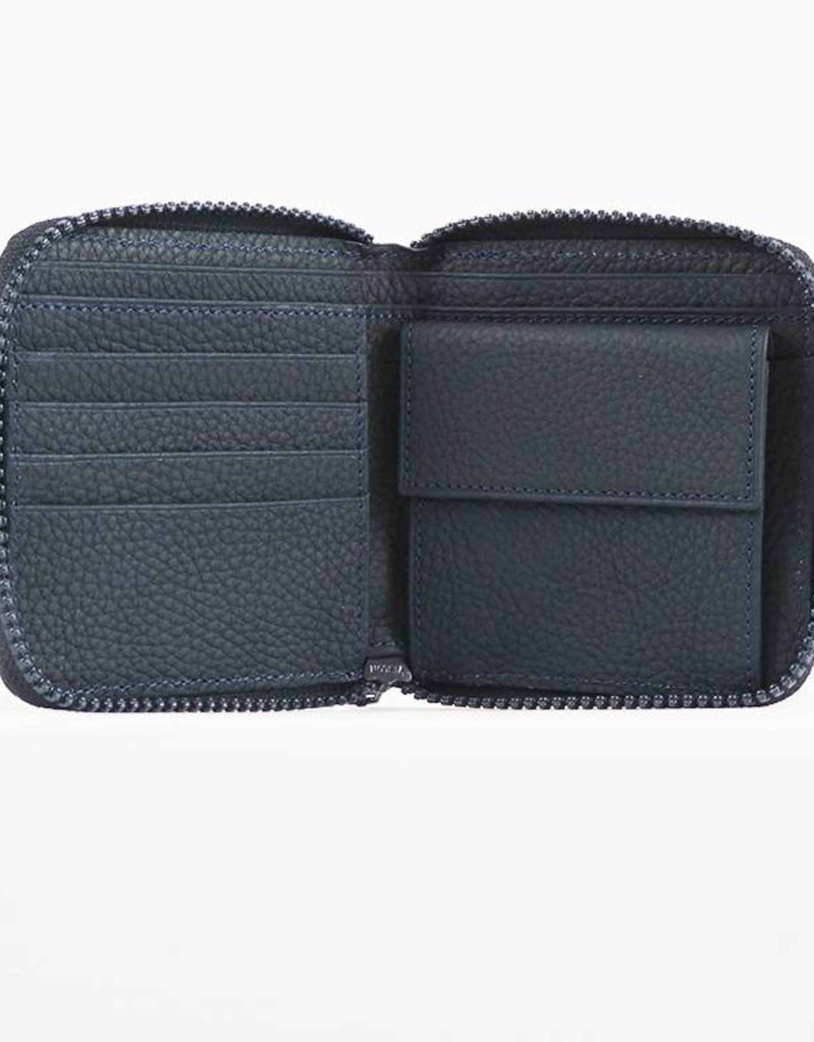 SMALL ZIPPED WALLET BLUE