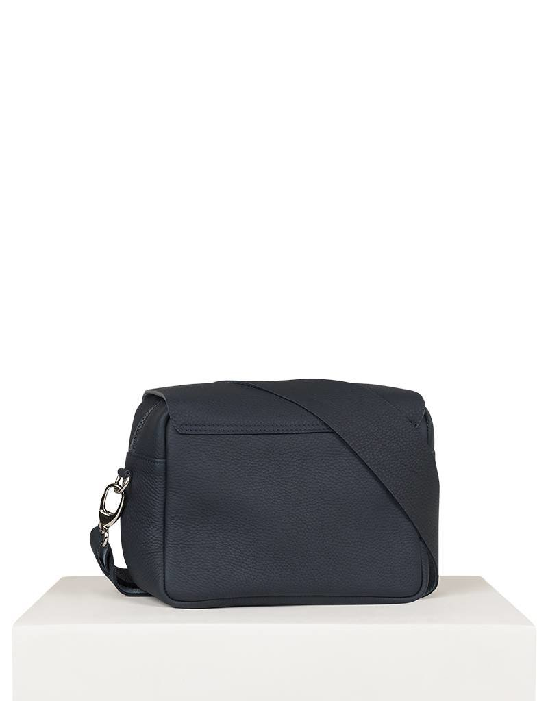 SMALL ZIPPED SHOULDERBAG BLUE