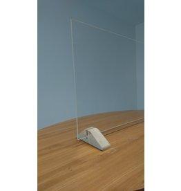 Spuck - und Niesschutz Plexiglas ohne Durchlass