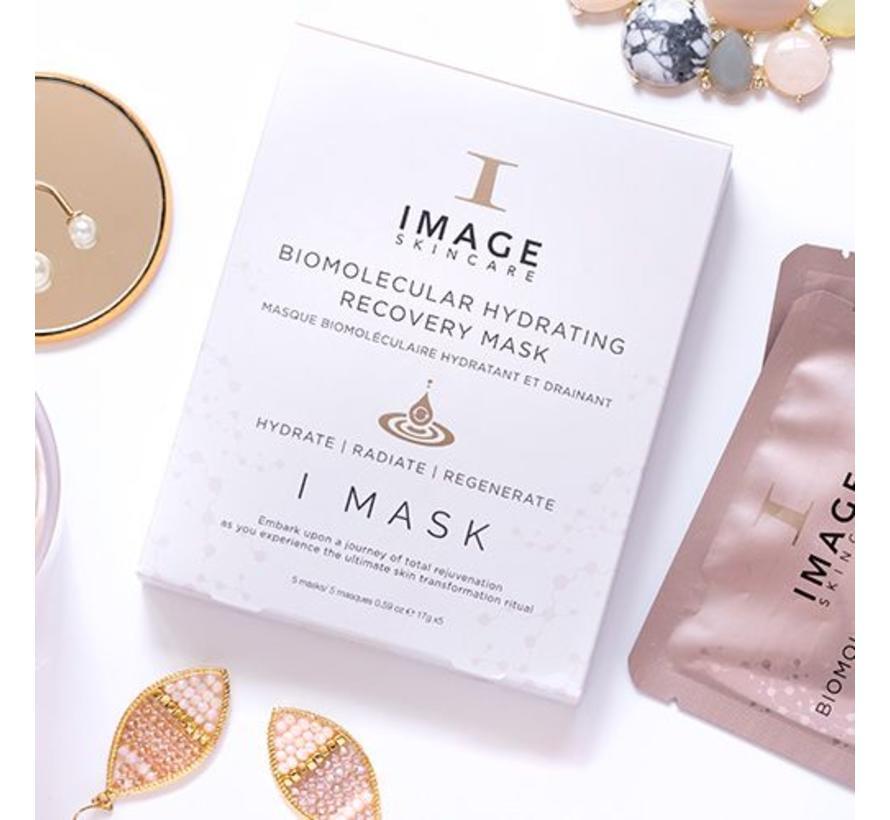 I Mask Biomolecular Hydrating Recovery Mask (5st)