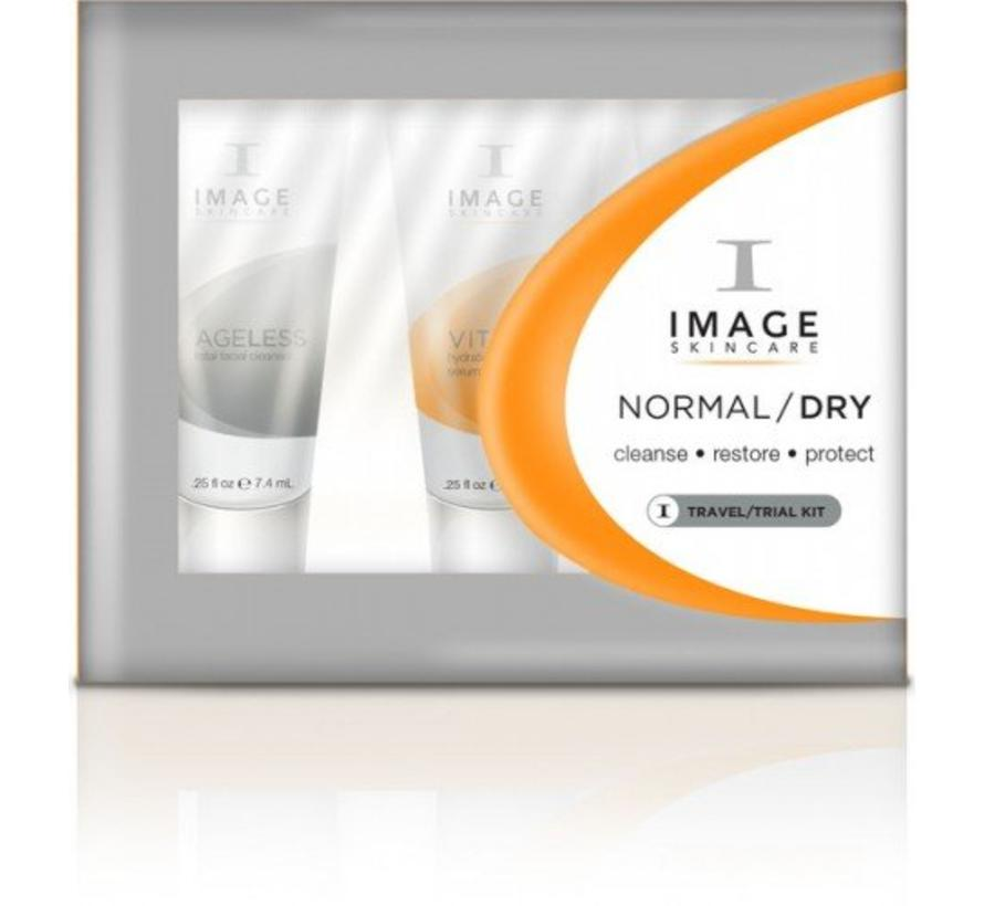 Gratis: Normal/Dry Trial Kit vanaf €150,-