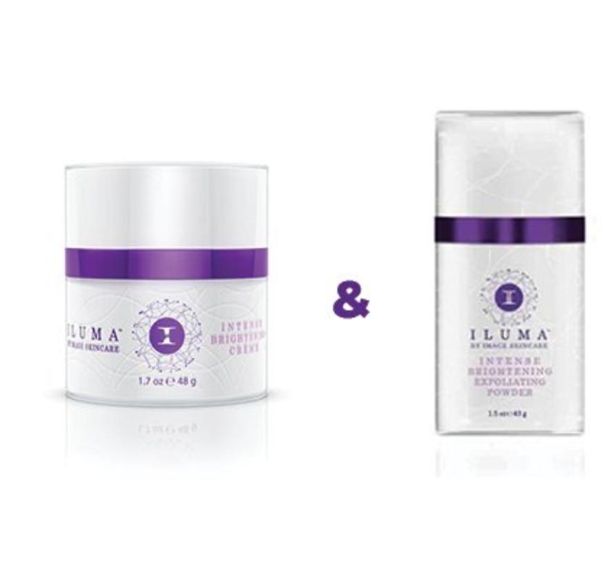 Iluma Intense Brightening Duo - Creme & Powder