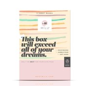 Milu Milu - 3 Sheet Masks Gift Box