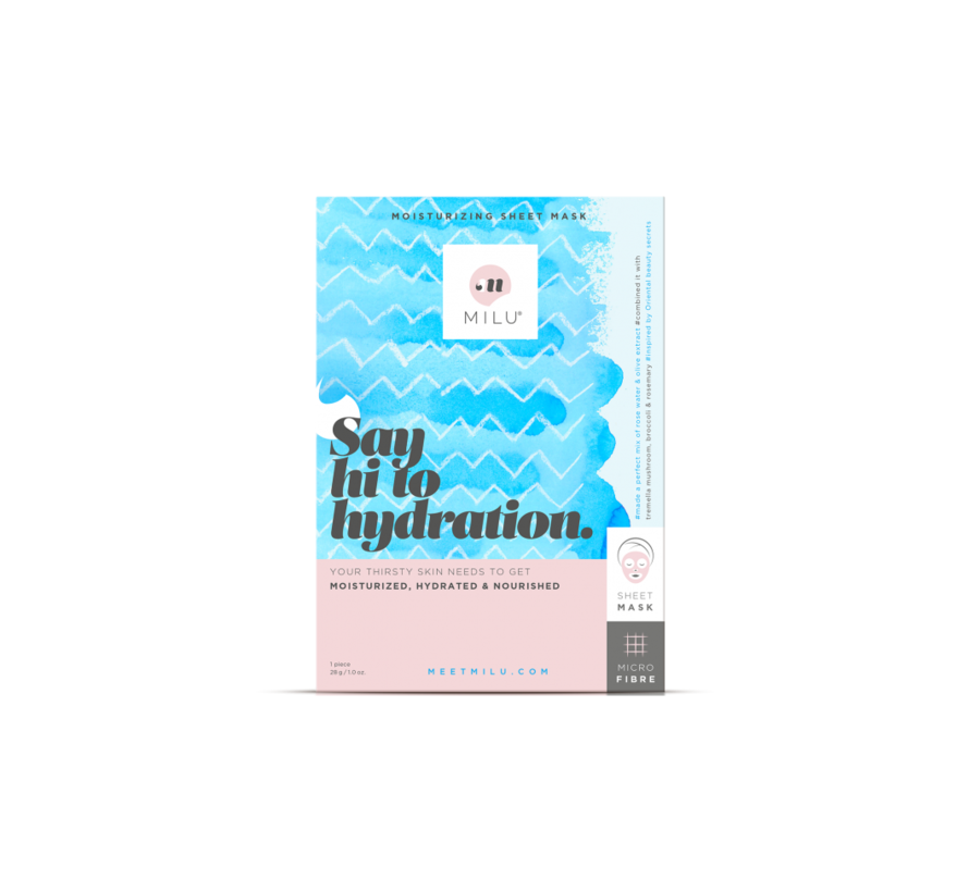Milu - Moisturizing Sheet Mask