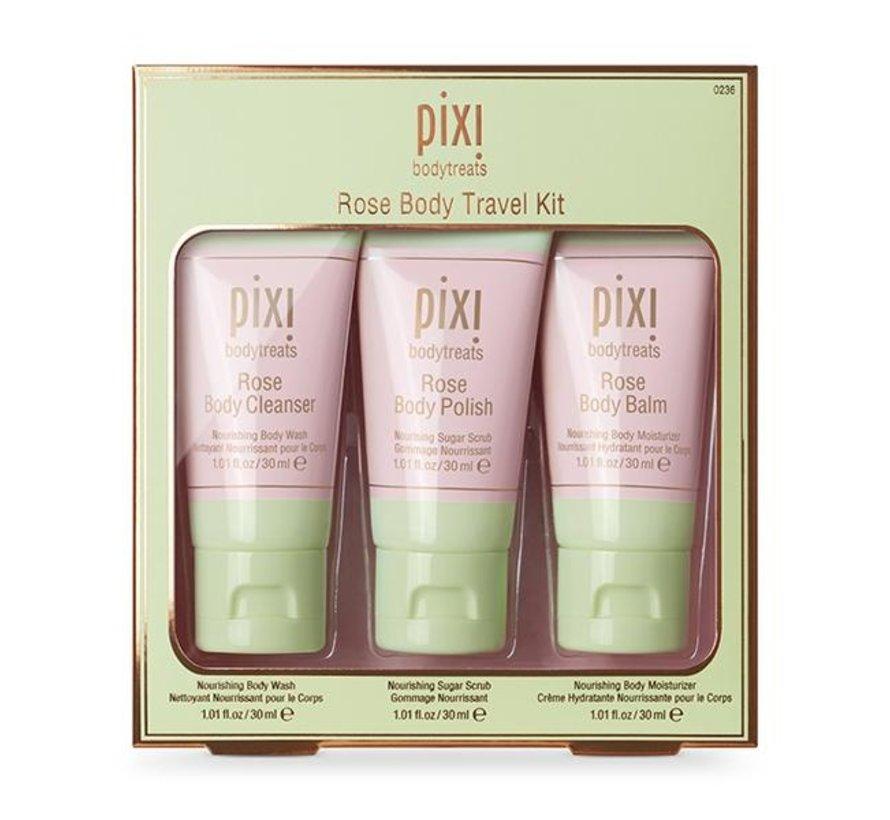 Pixi - Rose Body Travel Kit