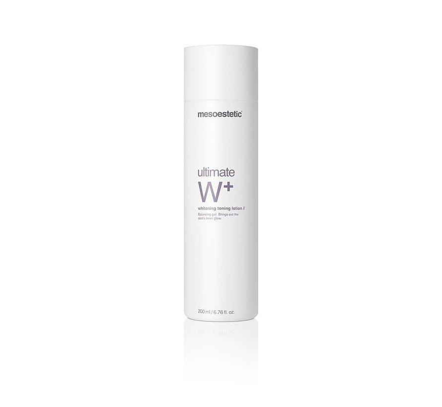 Ultimate W+ Whitening Toning Lotion (200ml)