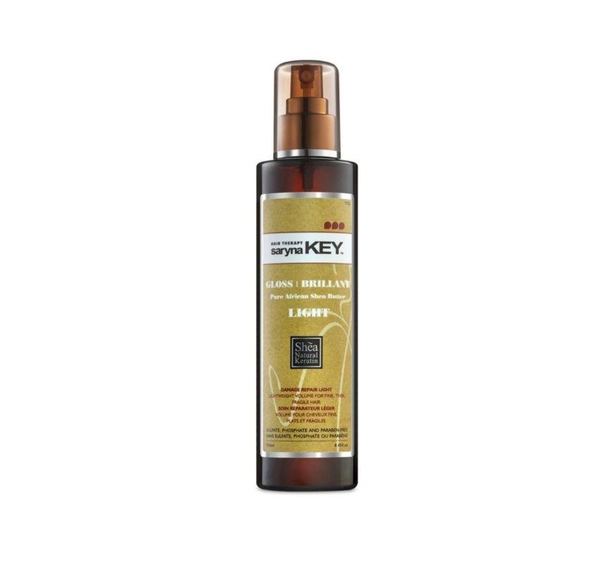 Damage Repair Pure African Shea Light Gloss (250ml)