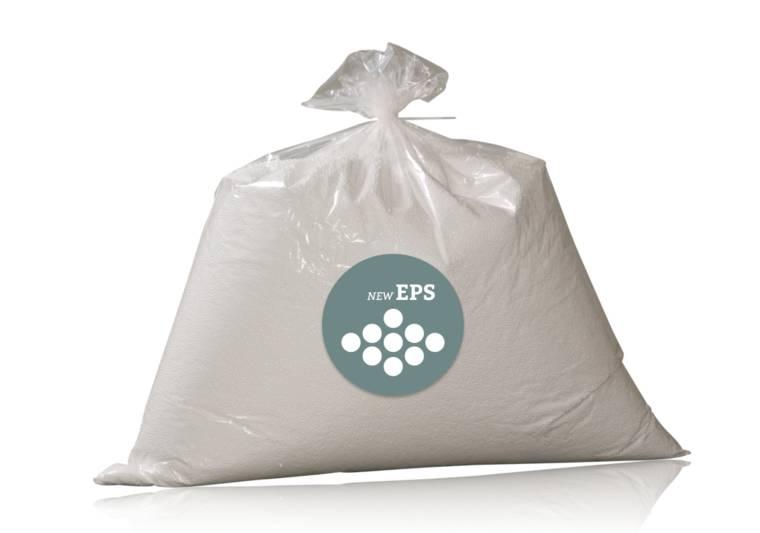 150 liter nieuwe EPS-korrels