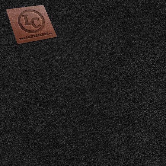Barça peervorm-zitzak in zwart kunstleer