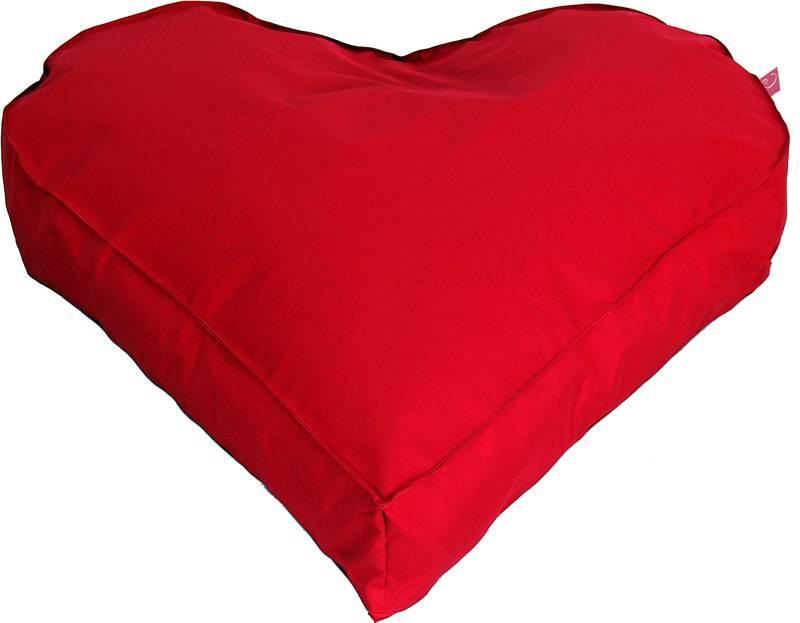 """LC LC Hartvorm Zitzak """"Paris"""" XL outdoor rood  - Wasbaar"""