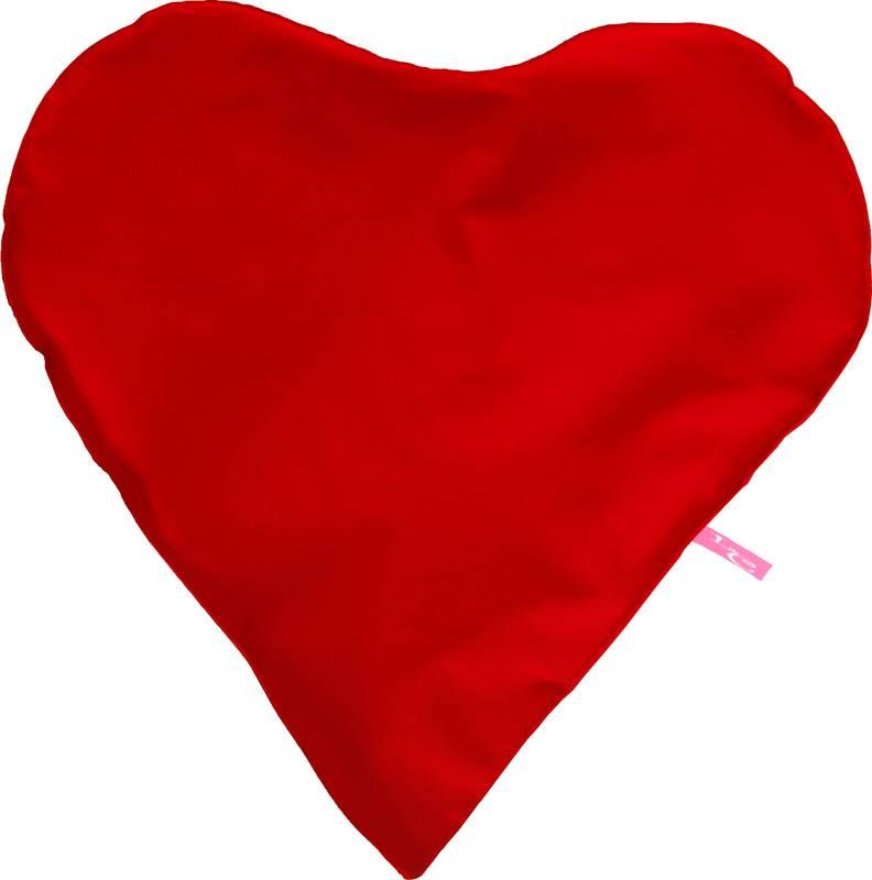 Paris Poef ''outdoor'' rode hartvorm-zitzak