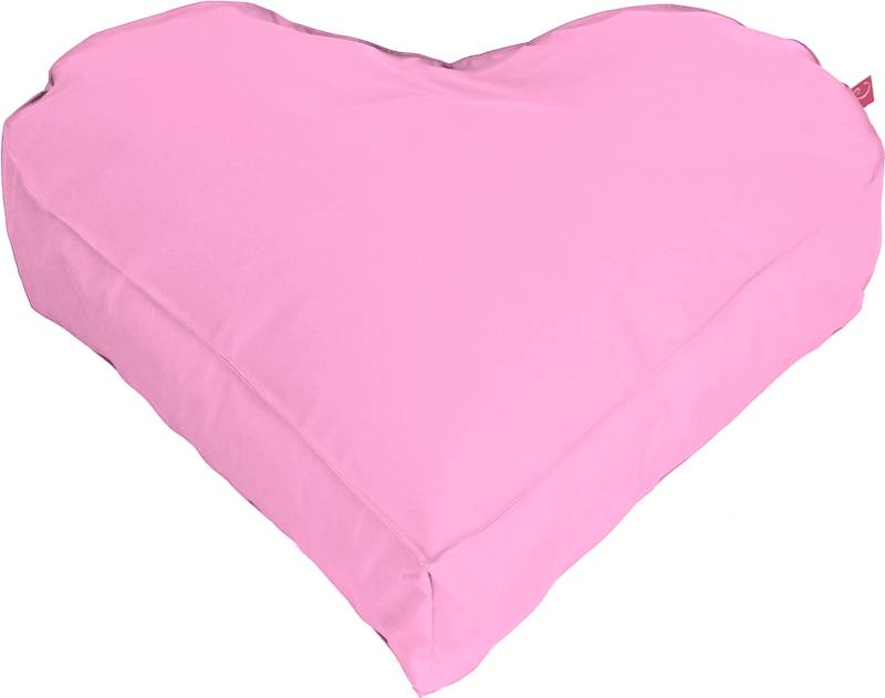 Paris XL ''outdoor'' licht roze hartvorm - zitzak