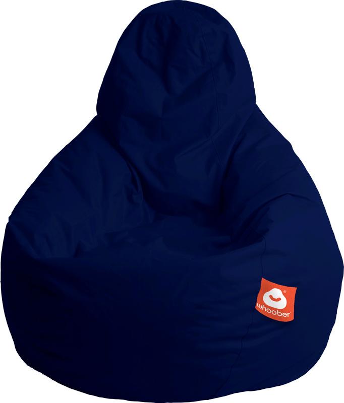 <h3>Comfortabele marine blauwe peervorm-zitzak van Whoober-outdoor kwaliteit die in Nederland door Whoober wordt geproduceerd. Gratis verzending en binnen enkele werkdagen in huis!</h3><h2>Belangrijkste eigenschappen van&nbsp;de Barca</h2><ul><li>Ook voor