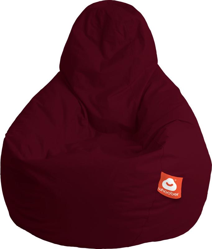 <h3>Comfortabele bordeaux rood peervorm-zitzak van Whoober-outdoor kwaliteit die in Nederland door Whoober wordt geproduceerd. Gratis verzending en binnen enkele werkdagen in huis!</h3><h2>Belangrijkste eigenschappen van&nbsp;de Barca</h2><ul><li>Ook voor