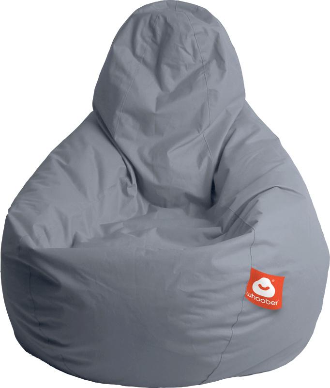 <h3>Comfortabele grijze peervorm-zitzak van Whoober-outdoor kwaliteit die in Nederland door Whoober wordt geproduceerd. Gratis verzending en binnen enkele werkdagen in huis!</h3><h2>Belangrijkste eigenschappen van&nbsp;de Barca</h2><ul><li>Ook voor de zak