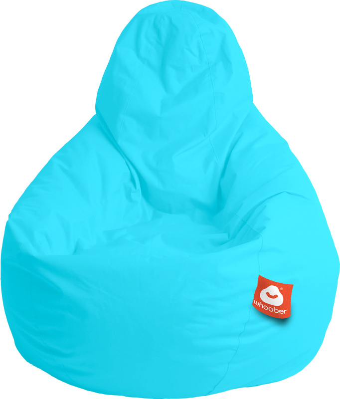 <h3>Comfortabele aqua blauwe peervorm-zitzak van Whoober-outdoor kwaliteit die in Nederland door Whoober wordt geproduceerd. Gratis verzending en binnen enkele werkdagen in huis!</h3><h2>Belangrijkste eigenschappen van&nbsp;de Barca</h2><ul><li>Ook voor d