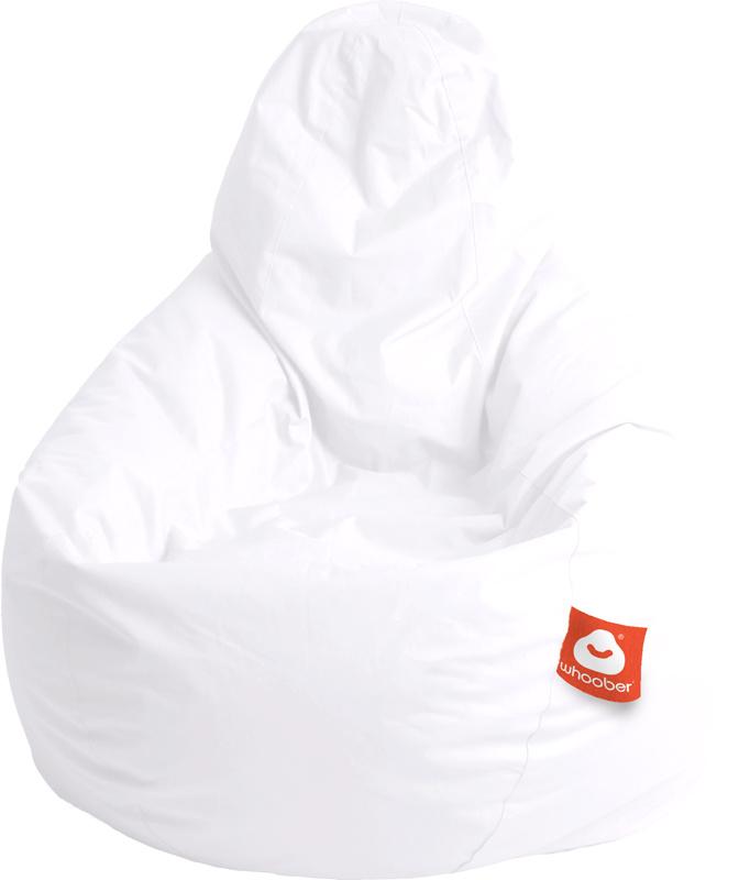 <h3>Comfortabele witte peervorm-zitzak van Whoober-outdoor kwaliteit die in Nederland door Whoober wordt geproduceerd. Gratis verzending en binnen enkele werkdagen in huis!</h3><h2>Belangrijkste eigenschappen van&nbsp;de Barca</h2><ul><li>Ook voor de zake