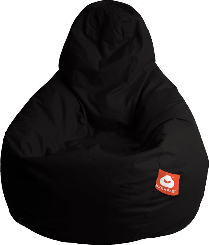 <h3>Comfortabele zwarte peervorm-zitzak van Whoober-outdoor kwaliteit die in Nederland door Whoober wordt geproduceerd. Gratis verzending en binnen enkele werkdagen in huis!</h3><h2>Belangrijkste eigenschappen van&nbsp;de Barca</h2><ul><li>Ook voor de zak