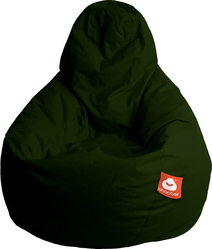 <h3>Comfortabele leger groene peervorm-zitzak van Whoober-outdoor kwaliteit die in Nederland door Whoober wordt geproduceerd. Gratis verzending en binnen enkele werkdagen in huis!</h3><h2>Belangrijkste eigenschappen van&nbsp;de Barca</h2><ul><li>Ook voor