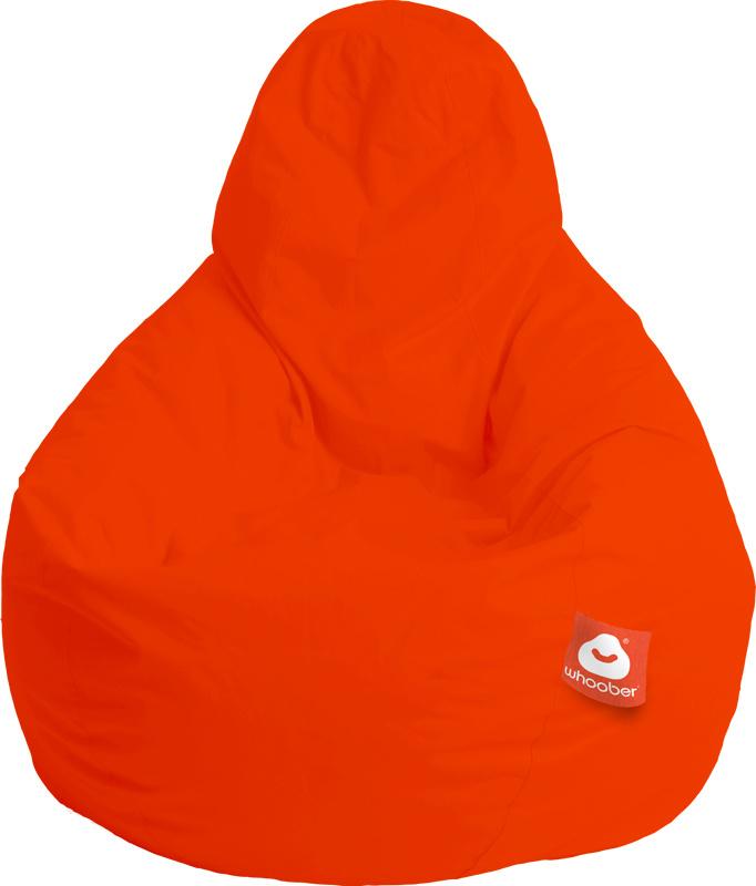 <h3>Comfortabele donker oranje peervorm-zitzak van Whoober-outdoor kwaliteit die in Nederland door Whoober wordt geproduceerd. Gratis verzending en binnen enkele werkdagen in huis!</h3><h2>Belangrijkste eigenschappen van&nbsp;de Barca</h2><ul><li>Ook voor