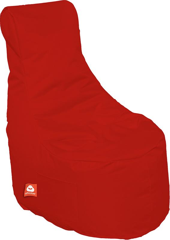 <h3>Comfortabele rode stoelvormige zitzak van Whoober-outdoor kwaliteit die in Nederland door Whoober wordt geproduceerd. Gratis verzending en binnen enkele werkdagen in huis!</h3><h3>Belangrijkste eigenschappen van&nbsp;de Nice</h3><ul><li>Ook voor de za