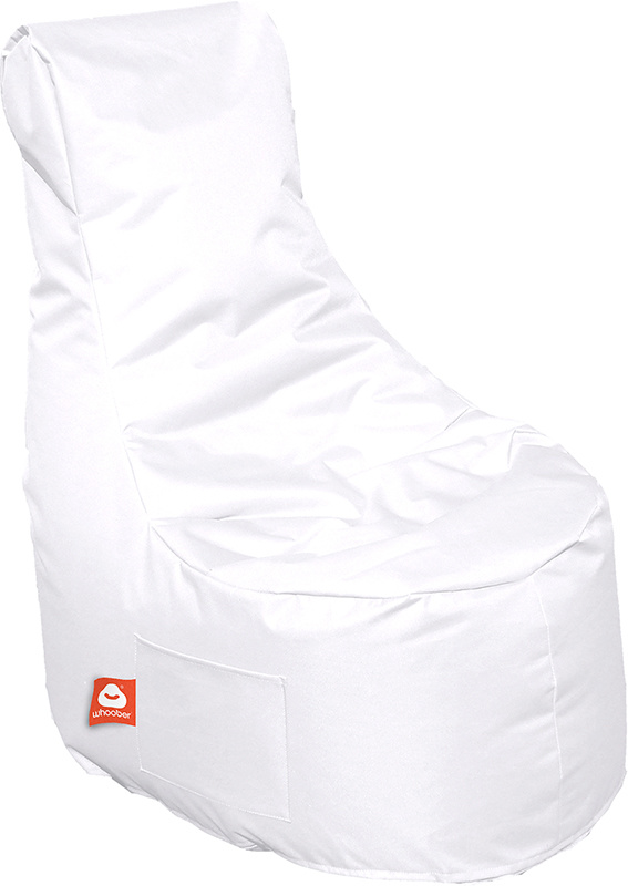 <h3>Comfortabele witte stoelvormige zitzak van Whoober-outdoor kwaliteit die in Nederland door Whoober wordt geproduceerd. Gratis verzending en binnen enkele werkdagen in huis!</h3><h3>Belangrijkste eigenschappen van&nbsp;de Nice</h3><ul><li>Ook voor de z