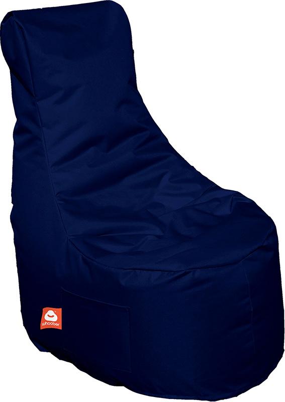 <h3>Comfortabele marine blauwe stoelvormige zitzak van Whoober-outdoor kwaliteit die in Nederland door Whoober wordt geproduceerd. Gratis verzending en binnen enkele werkdagen in huis!</h3><h3>Belangrijkste eigenschappen van&nbsp;de Nice</h3><ul><li>Ook v