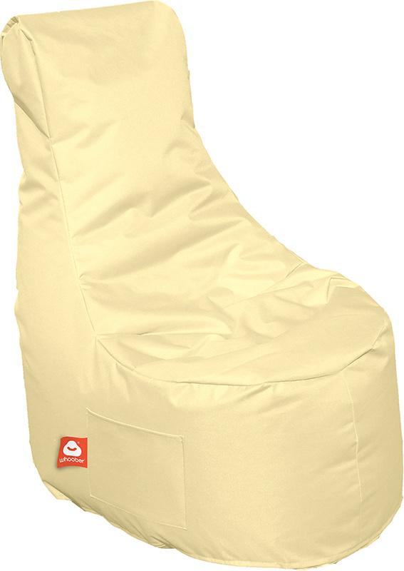 <h3>Comfortabele crème stoelvormige zitzak van Whoober-outdoor kwaliteit die in Nederland door Whoober wordt geproduceerd. Gratis verzending en binnen enkele werkdagen in huis!</h3><h3>Belangrijkste eigenschappen van&nbsp;de Nice</h3><ul><li>Ook voor de z
