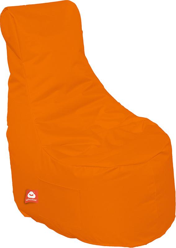 <h3>Comfortabele oranje stoelvormige zitzak van Whoober-outdoor kwaliteit die in Nederland door Whoober wordt geproduceerd. Gratis verzending en binnen enkele werkdagen in huis!</h3><h3>Belangrijkste eigenschappen van&nbsp;de Nice</h3><ul><li>Ook voor de