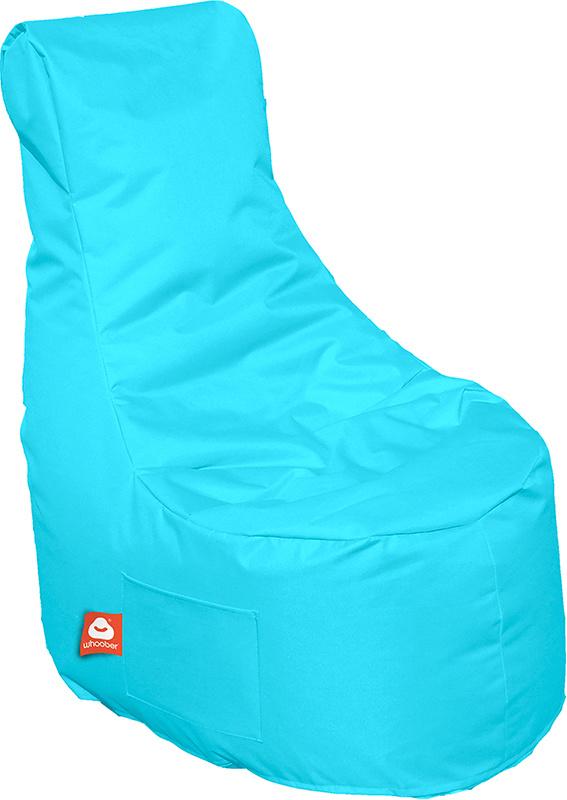 <h3>Comfortabele aqua blauwe stoelvormige zitzak van Whoober-outdoor kwaliteit die in Nederland door Whoober wordt geproduceerd. Gratis verzending en binnen enkele werkdagen in huis!</h3><h3>Belangrijkste eigenschappen van&nbsp;de Nice</h3><ul><li>Ook voo