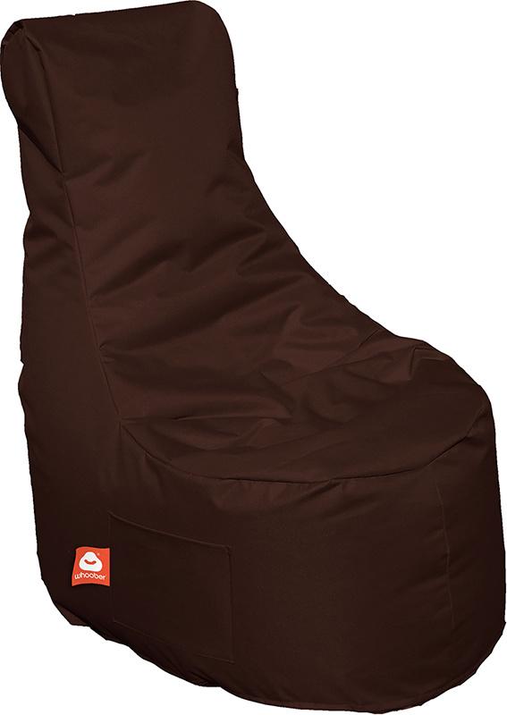 <h3>Comfortabele donker bruine stoelvormige zitzak van Whoober-outdoor kwaliteit die in Nederland door Whoober wordt geproduceerd. Gratis verzending en binnen enkele werkdagen in huis!</h3><h3>Belangrijkste eigenschappen van&nbsp;de Nice</h3><ul><li>Ook v