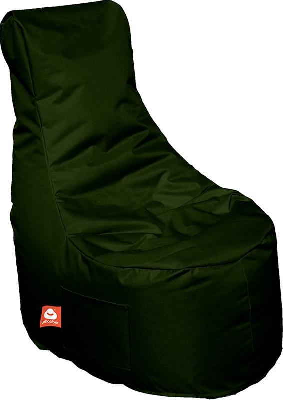 <h3>Comfortabele leger groene stoelvormige zitzak van Whoober-outdoor kwaliteit die in Nederland door Whoober wordt geproduceerd. Gratis verzending en binnen enkele werkdagen in huis!</h3><h3>Belangrijkste eigenschappen van&nbsp;de Nice</h3><ul><li>Ook vo