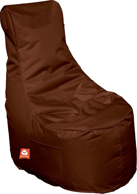 <h3>Comfortabele licht bruine stoelvormige zitzak van Whoober-outdoor kwaliteit die in Nederland door Whoober wordt geproduceerd. Gratis verzending en binnen enkele werkdagen in huis!</h3><h3>Belangrijkste eigenschappen van&nbsp;de Nice</h3><ul><li>Ook vo