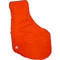 """Whoober Whoober Zitzak stoel """"Nice"""" outdoor donker oranje - Wasbaar - Geschikt voor buiten"""