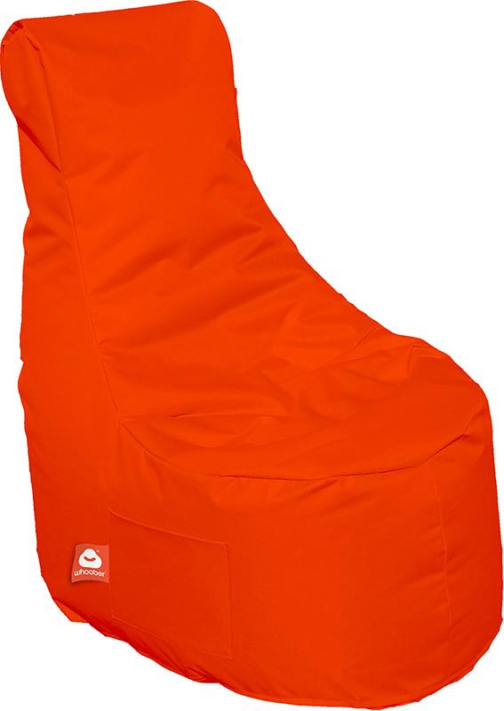 <h3>Comfortabele donker oranje stoelvormige zitzak van Whoober-outdoor kwaliteit die in Nederland door Whoober wordt geproduceerd. Gratis verzending en binnen enkele werkdagen in huis!</h3><h3>Belangrijkste eigenschappen van&nbsp;de Nice</h3><ul><li>Ook v
