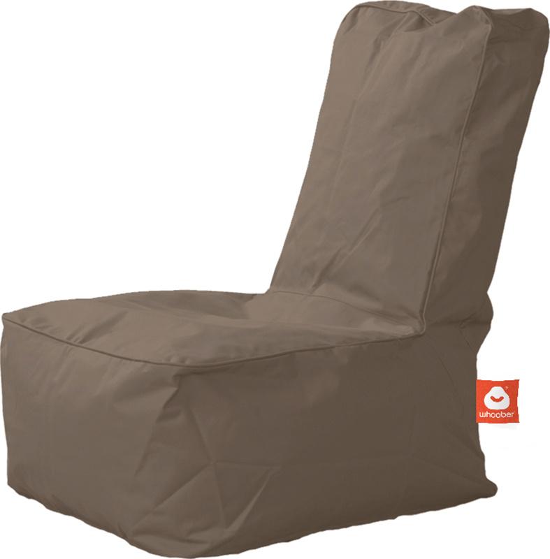 <h3>Comfortabele taupe kinderzitzak van Whoober-outdoor kwaliteit die in Nederland door Whoober wordt geproduceerd. Gratis verzending en binnen enkele werkdagen in huis!</h3><h2>Belangrijkste eigenschappen van&nbsp;de Fiji</h2><ul><li>Ook voor de zakelijk
