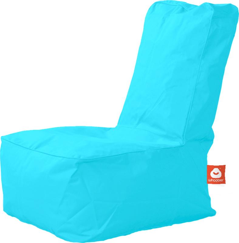 <h3>Comfortabele aqua blauwe kinderzitzak van Whoober-outdoor kwaliteit die in Nederland door Whoober wordt geproduceerd. Gratis verzending en binnen enkele werkdagen in huis!</h3><h2>Belangrijkste eigenschappen van&nbsp;de Fiji</h2><ul><li>Ook voor de za
